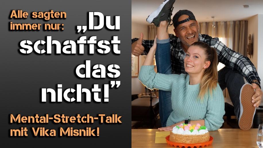 Vika Misnik bei Mental gewinnt!