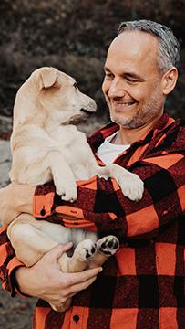 Harald mit Amy