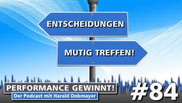 Performance gewinnt - der Podcast mit Harald Dobmayer
